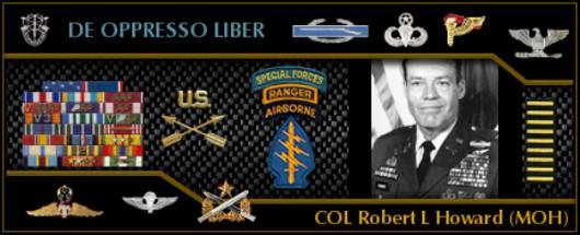 Freeper Canteen Hall Of Heroes Robert L Howard September 22 2014