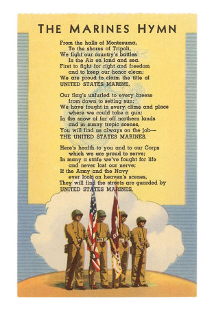 an analysis of the marine hymn in the united states The marine corps has been in the fore front of every american war since its  is  specific to north america, adding a more patriotic meaning to the emblem.